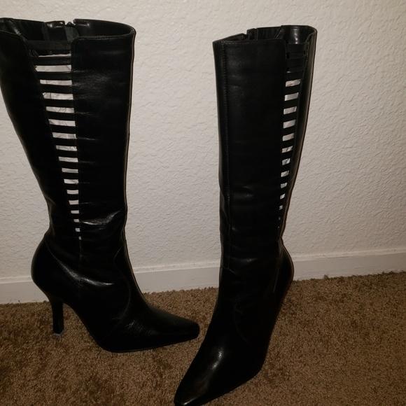 c6b19c121bcf0 Chinese Laundry Shoes | Tall Black Boots Size 6 | Poshmark
